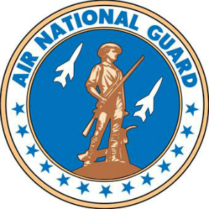 Air National Guard logo.