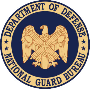 National Guard Bureau logo.